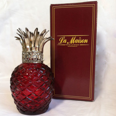 Red Pineapple Perfume Lamp