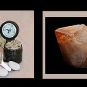 Citrine stone & scrub