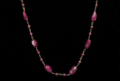Rubies with Gold necklace