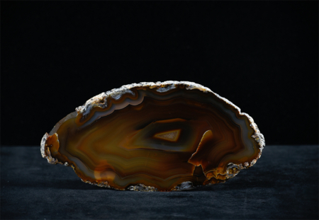 Agate Crystal_shades of brown