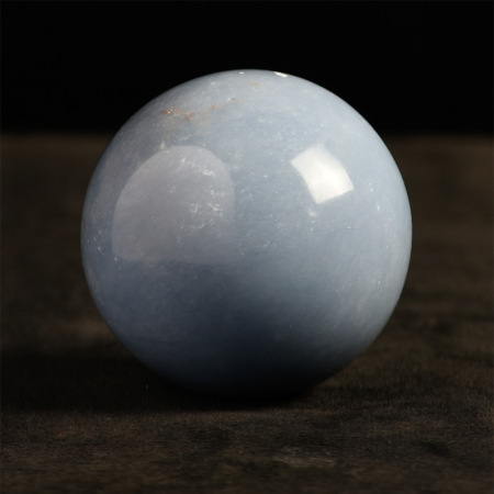 Angelite-Sphere Crystall+shades of blue