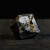Black-Tourmaline crystal_black, golden