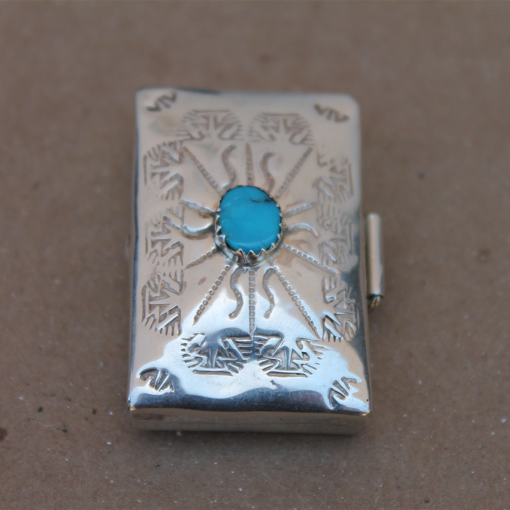 Turquoise Silver Box
