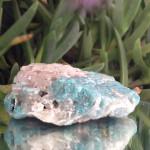 Amozonite with Quartz