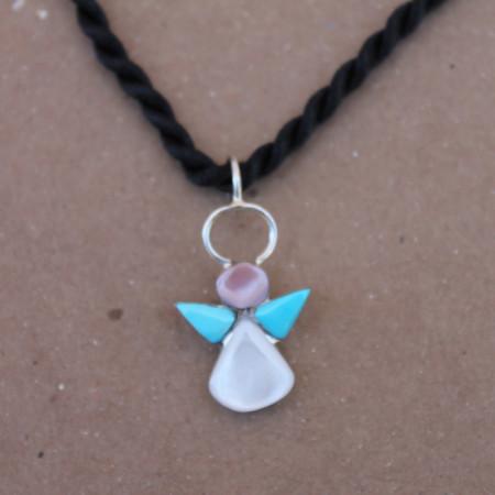 Turquoise Angel Pendant