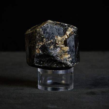 Black-Tourmaline Crystal_ black, golden