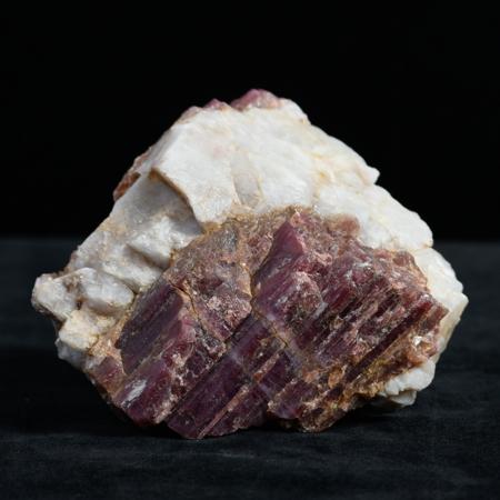 Rose-Quartz crystal_white, pink, brown